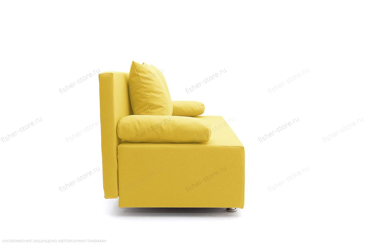 Прямой диван Чарли Dream Yellow Вид сбоку