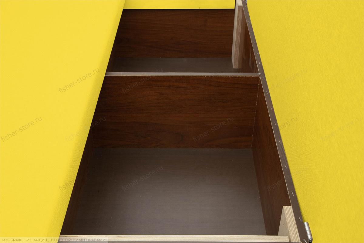 Прямой диван Чарли Dream Yellow Ящик для белья