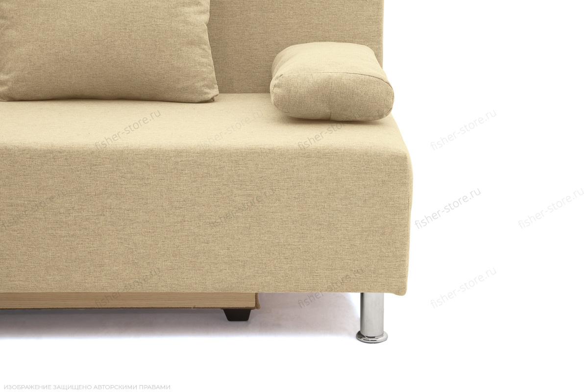 Прямой диван Чарли эконом Dream Dark beige Ножки
