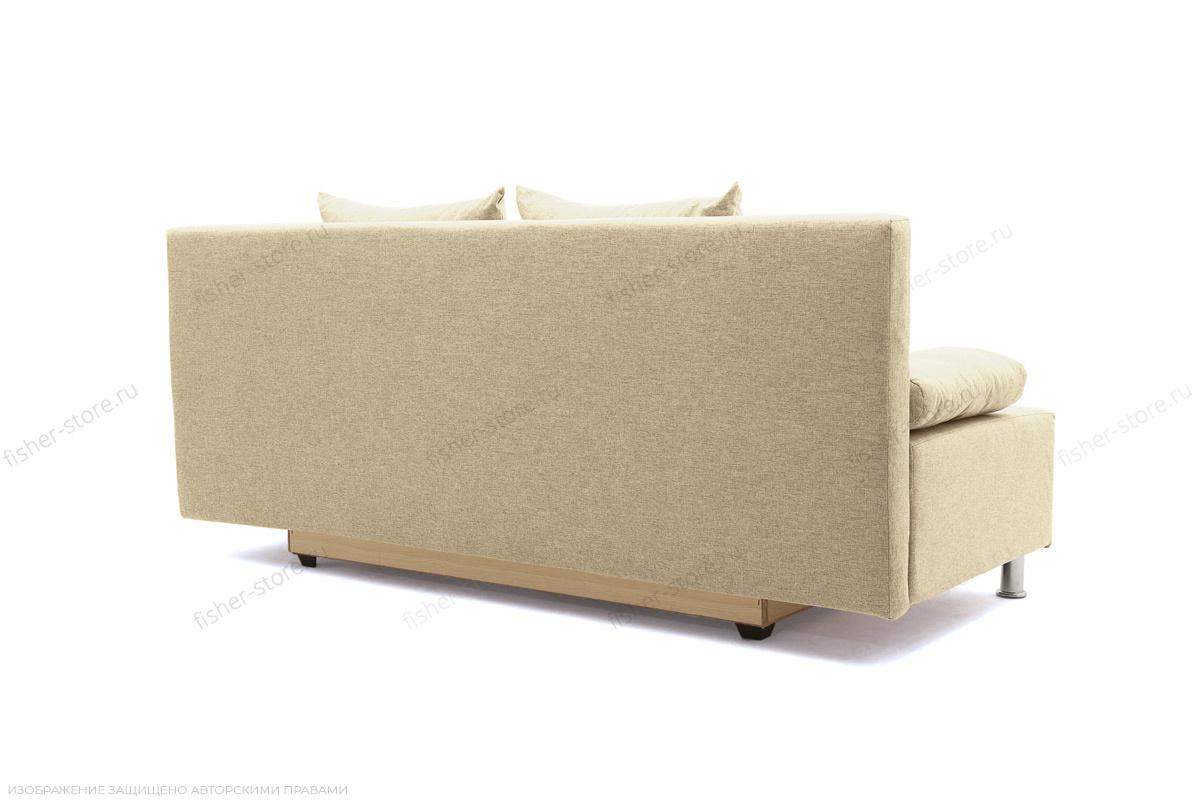 Прямой диван Чарли эконом Dream Dark beige Вид сзади
