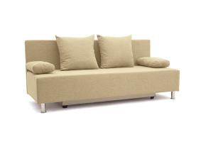 Прямой диван Чарли эконом Dream Dark beige Вид спереди