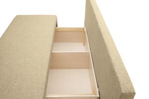Прямой диван Чарли эконом Dream Dark beige Ящик для белья