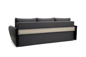 Прямой диван Джаз Amigo Grafit + Sontex Black Вид сзади
