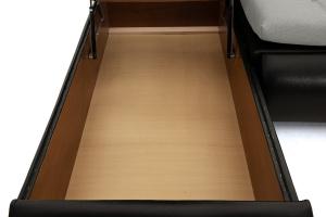 Угловой диван Модерн Dream Light Grey Ящик для белья