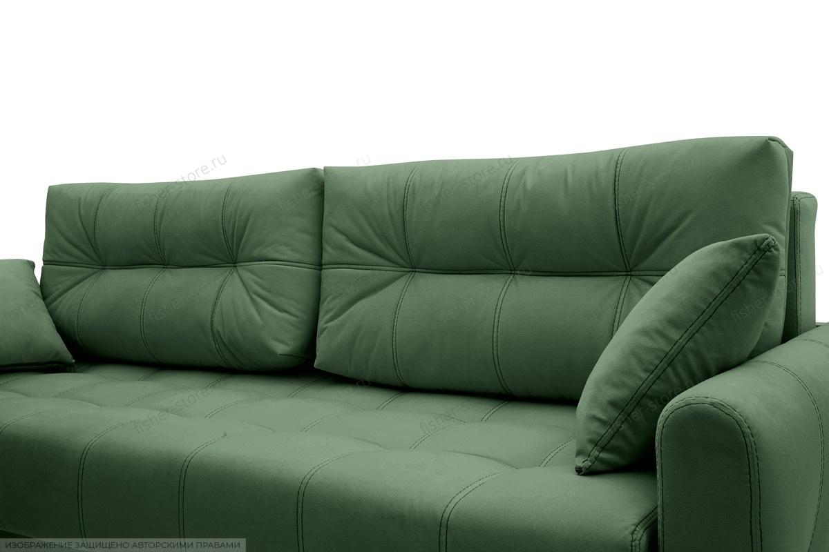 Прямой диван Мадрид люкс Amigo Green Подушки