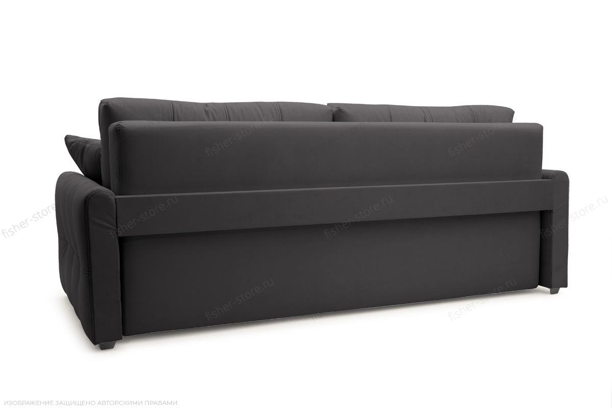 Прямой диван Мадрид люкс Amigo Grafit Вид сзади