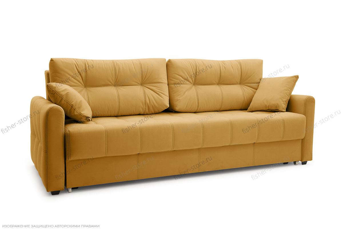 Прямой диван Мадрид люкс Amigo Yellow Вид по диагонали