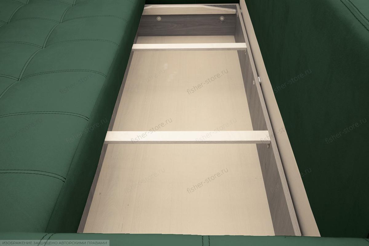 Прямой диван Мадрид люкс Amigo Green Ящик для белья
