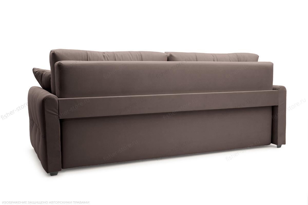 Двуспальный диван Мадрид люкс Amigo Chocolate Вид сзади