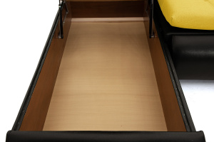 Угловой диван Модерн Dream Yellow Ящик для белья