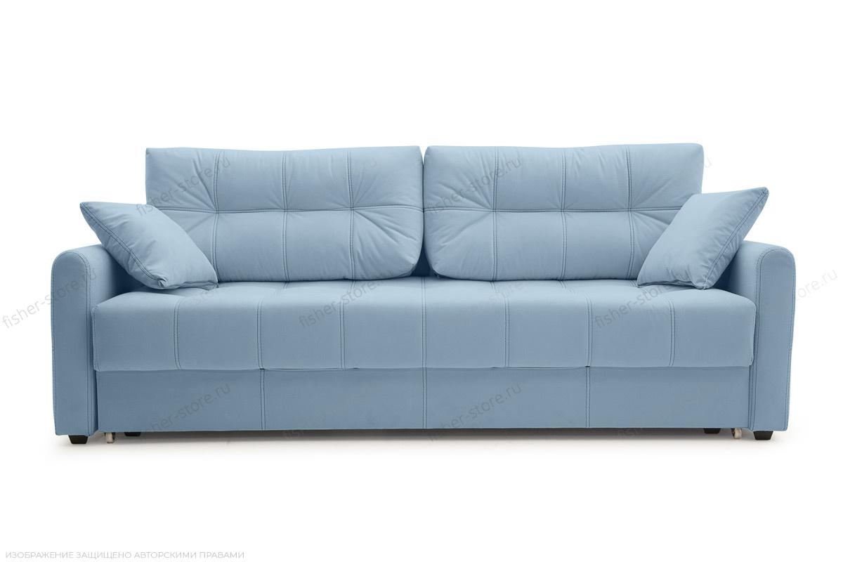Прямой диван Мадрид люкс Amigo Blue Вид спереди