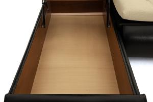 Угловой диван Модерн Dream Dark Beight Ящик для белья