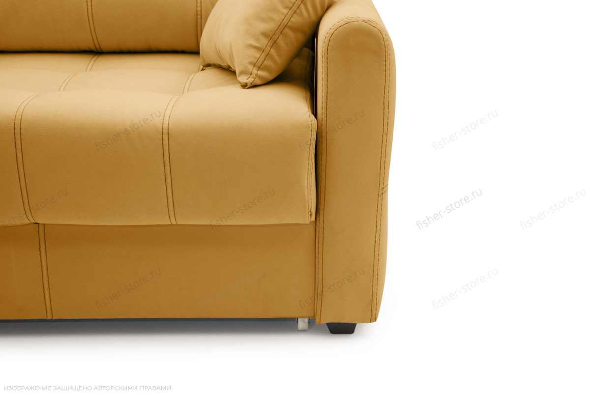 Прямой диван Мадрид люкс Amigo Yellow Ножки