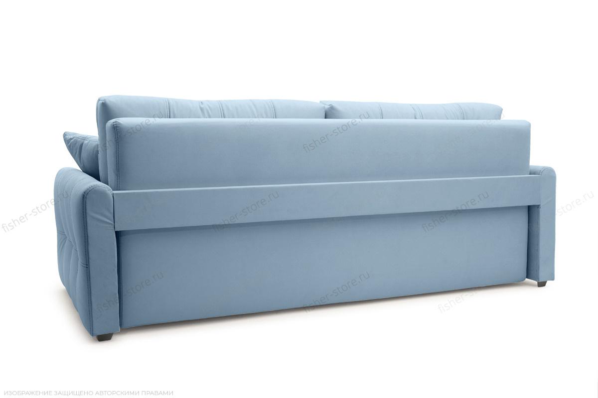 Прямой диван Мадрид люкс Amigo Blue Вид сзади