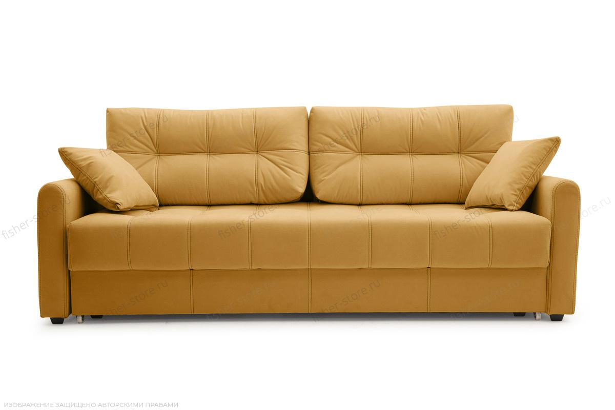 Прямой диван Мадрид люкс Amigo Yellow Вид спереди