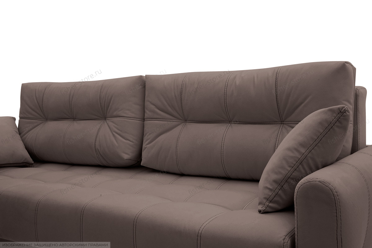 Двуспальный диван Мадрид люкс Amigo Chocolate Подушки