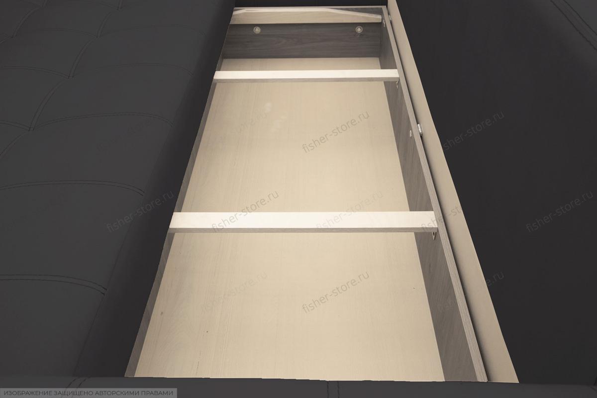 Прямой диван Мадрид люкс Amigo Grafit Ящик для белья