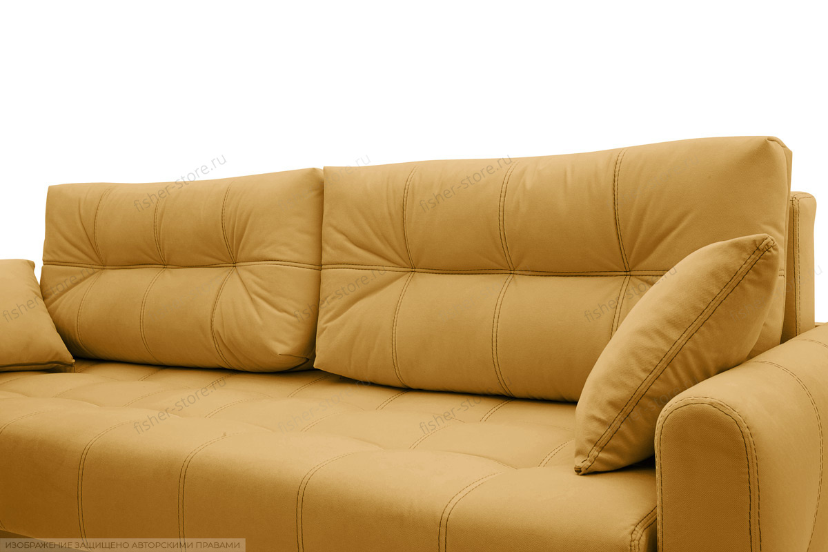 Прямой диван Мадрид люкс Amigo Yellow Подушки