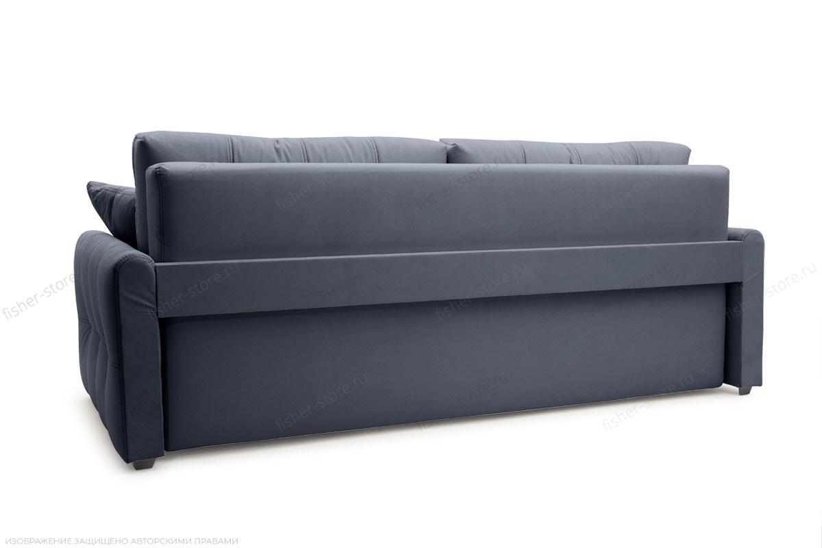 Прямой диван Мадрид люкс Amigo Navy Вид сзади