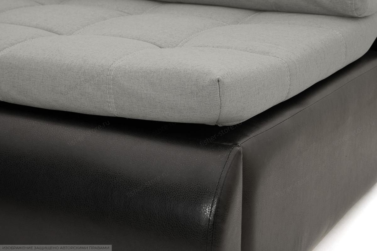 Угловой диван Модерн Dream Light Grey Текстура ткани
