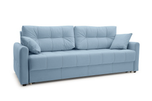 Прямой диван Мадрид люкс Amigo Blue Вид по диагонали