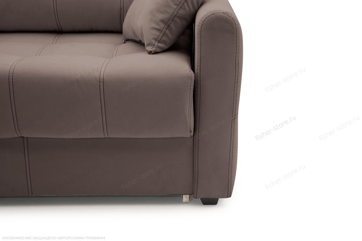 Двуспальный диван Мадрид люкс Amigo Chocolate Ножки