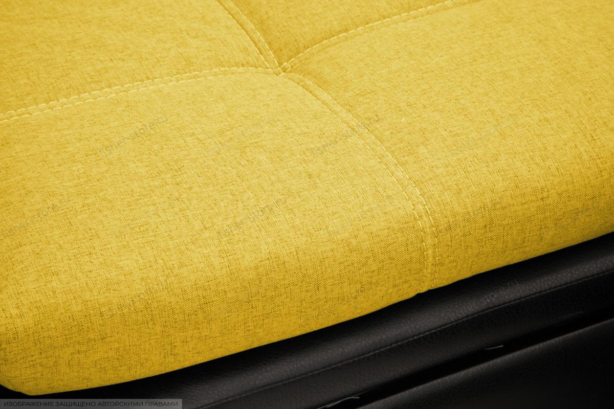 Угловой диван Модерн Dream Yellow Текстура ткани