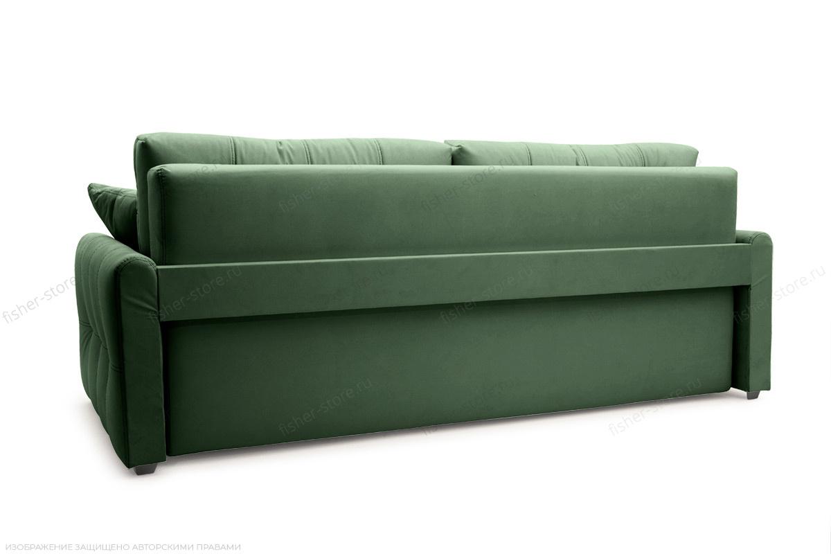 Прямой диван Мадрид люкс Amigo Green Вид сзади