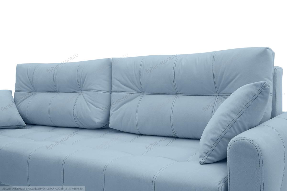 Прямой диван Мадрид люкс Amigo Blue Подушки