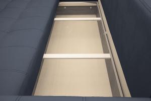 Прямой диван Мадрид люкс Amigo Navy Ящик для белья
