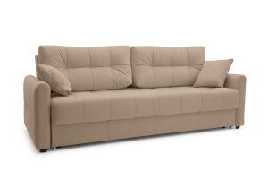 Прямой диван Мадрид люкс Amigo Latte Вид по диагонали