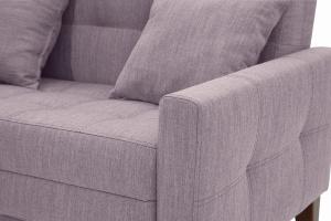 Прямой диван Этро люкс с опорой №3 Orion Lilac Текстура ткани