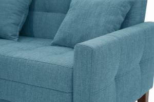 Прямой диван Этро люкс с опорой №3 Orion Denim Текстура ткани