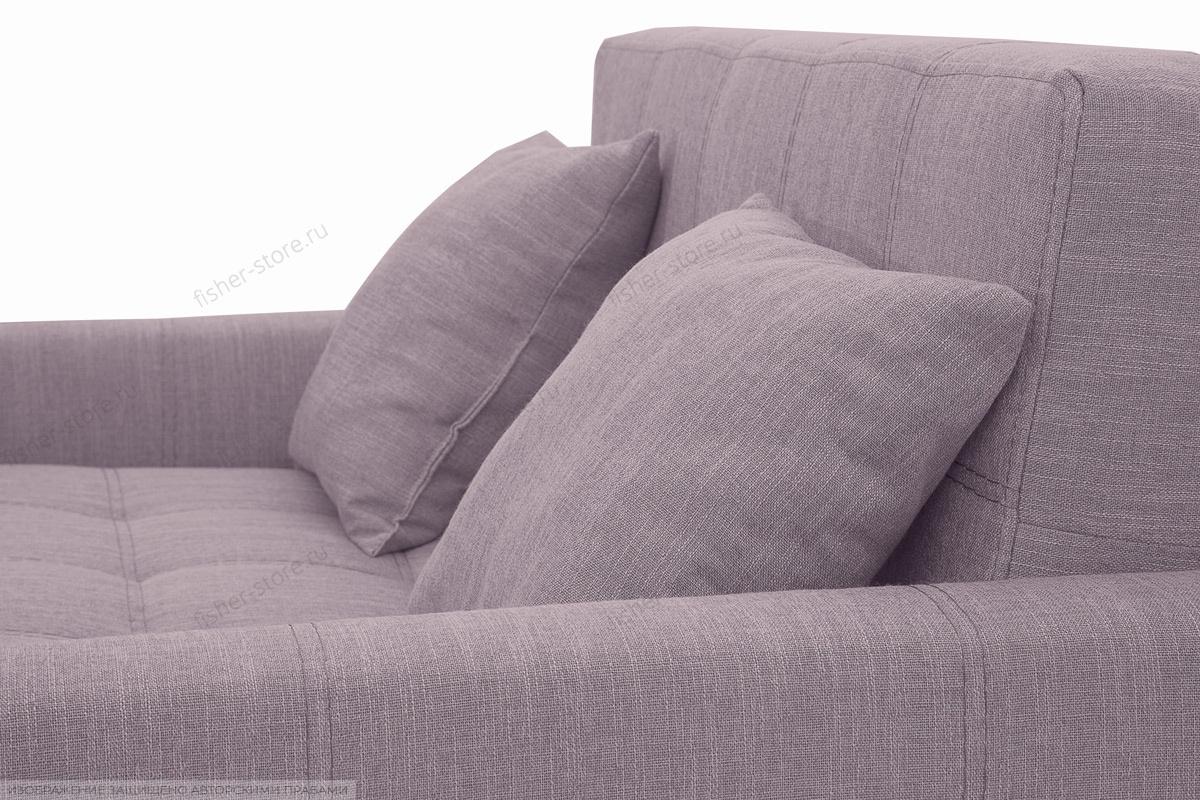 Прямой диван Этро люкс с опорой №3 Orion Lilac Подушки