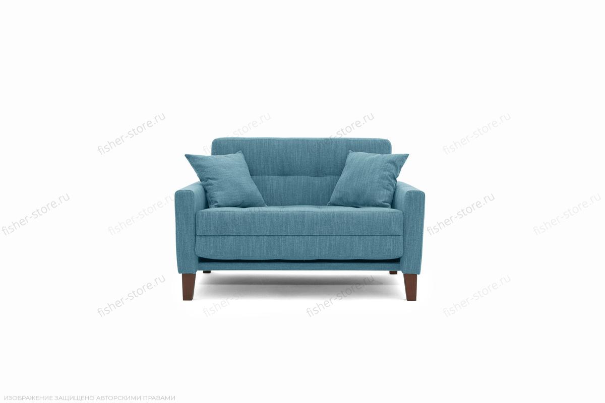 Прямой диван Этро люкс с опорой №3 Orion Denim Вид спереди