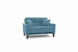 Прямой диван Этро люкс с опорой №3 Orion Denim Вид по диагонали