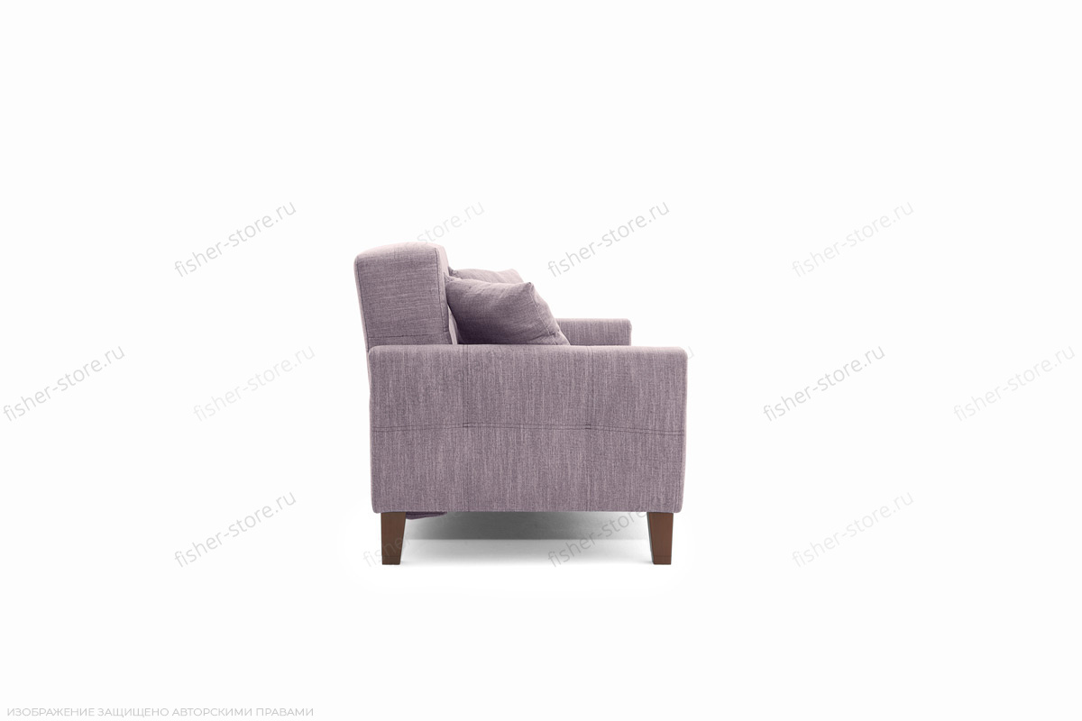 Прямой диван Этро люкс с опорой №3 Orion Lilac Вид сбоку