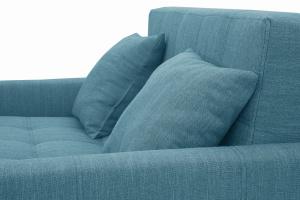 Прямой диван Этро люкс с опорой №3 Orion Denim Подушки