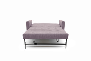 Прямой диван Этро люкс с опорой №3 Orion Lilac Спальное место