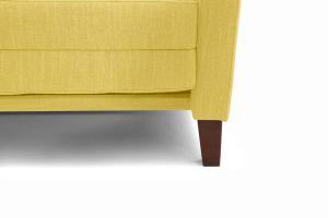 Прямой диван Этро люкс с опорой №3 Orion Mustard Ножки