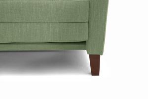 Прямой диван Этро люкс с опорой №3 Orion Green Ножки