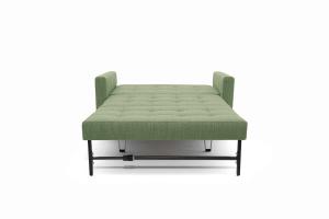 Прямой диван Этро люкс с опорой №3 Orion Green Спальное место