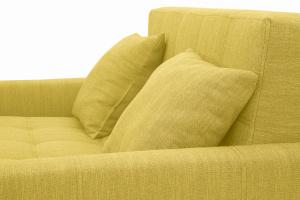Прямой диван Этро люкс с опорой №3 Orion Mustard Подушки