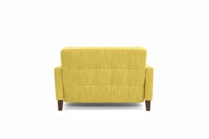Прямой диван Этро люкс с опорой №3 Orion Mustard Вид сзади