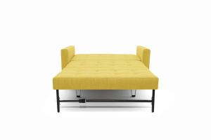 Прямой диван Этро люкс с опорой №3 Orion Mustard Спальное место