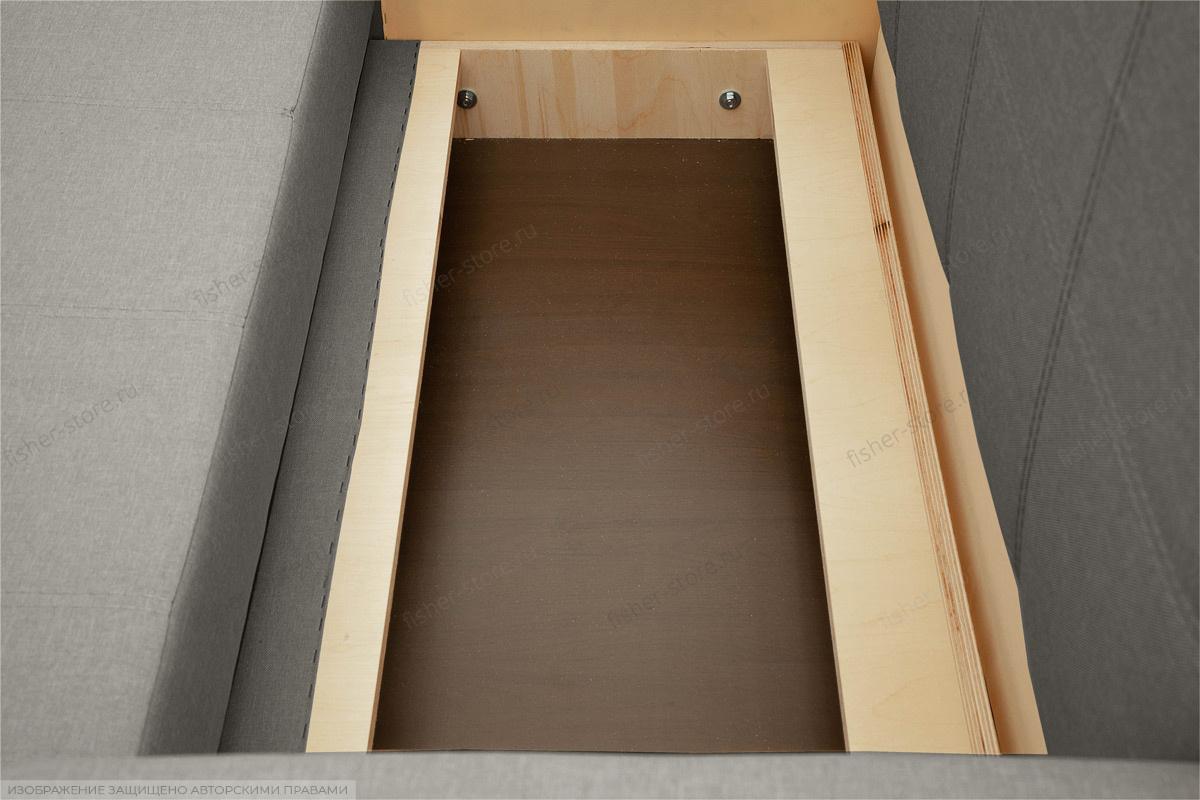 Прямой диван Малютка Dream Grey Ящик для белья