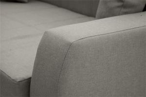 Прямой диван Малютка Dream Grey Подлокотник