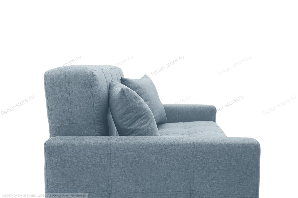 Прямой диван Этро люкс с опорой №3 Dream Blue Подушки