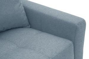 Прямой диван Этро люкс с опорой №3 Dream Blue Подлокотник