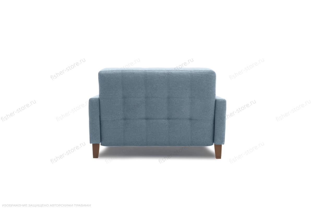 Прямой диван Этро люкс с опорой №3 Dream Blue Вид сзади